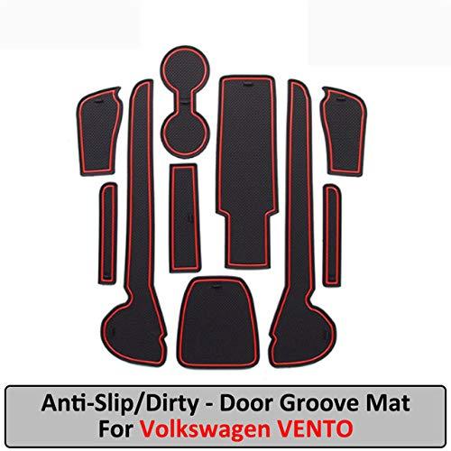 JXSMDNB Gadget Pad Interior Accessoires Gel Pad Rubber Gate gleuf mat voor Volkswagen Vento