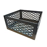 Total Control BBQ Charcoal Basket Smoker Pit (fire Box) 12 x 12 x 6 Compatible with B-B-Chef Brinkmann for Char-Broil Chargriller New Braunsfel Old Country