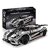 Technic Car Advanced Building Set para Koenigsegg Supercar, Technic Sports Car Set De Construcción, 3063 Piezas Bloques Compatibles con Lego,El Modelo De Construcción No Es Creado por Lego