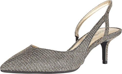 Zapatos Mujer Salones Peep_Toes Michael Kors Eliza Flex Kitt Negro 37