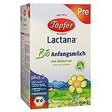 TÖPFER Lactana Bio Pre Pulver 600 Gramm