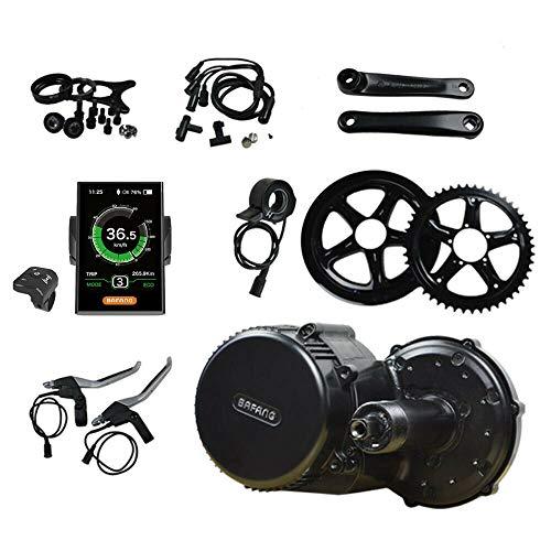 bmc-world Motore centrale Bafang, 48 V/750 W, kit di conversione BBS02, DPC18, display a colori, kit di conversione per biciclette elettriche, Pedelec