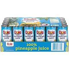 No Added Sugar: DOLE Pineapple Juice has No Added Sugar & is naturally gluten free. A great choice for health-minded people who love juice. Delicious & refreshing, take it on the go for a tropical twist at the office, gym, or outdoors Naturally Glute...