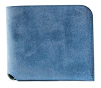 ファブリック コインケースが取り外せる財布 BI-FOLD WALLET & COIN CASE 財布 FABRIK ブルー