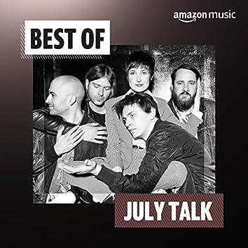 Best of July Talk
