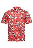 Superdry Hawaiian Box S/s Shirt Camisa, Rojo (Vintage Tropical Red D5u), XL para Hombre