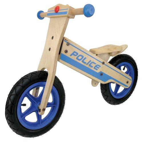Messingschlager Police - Bicicleta Infantil sin Pedales