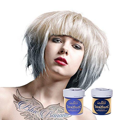 La Riche Directions Haarfarben Set aus 1x White und 1x Silver