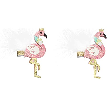 Pink Flamingo Boblets for Girls Women Teens Hair Band Bracelet Party Favors