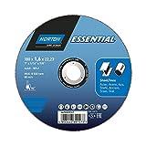 Disco de Corte para acero inoxidable - Norton Essential -180x1.6x22.2
