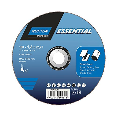 Grit 80 Medium Pack of 5 Aluminum Oxide Norton 3X High Performance Portable Belt 21 Length x 3 Width