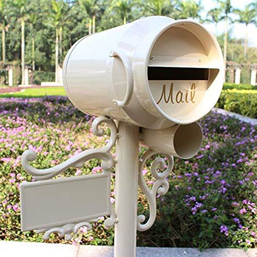 Iyom voetgangers Letter Box Villa Tuin Decoratie Post Dozen Brievenbus Brievenbus Decoratieve Brievenbus Melkdoos voor Scholen/Postkantoor/Appartementen