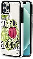 iphone 12 pro ケース iphone12 ケース 手帳型 簡単になるのではなく、強くなるだけ Iphone12 mini Iphone12 Pro Max 用 スマホケース スタンド機能 Apple 12 レザーウォレットケースアイフォン12 ケース / アイフォン12プロ ケース 財布型