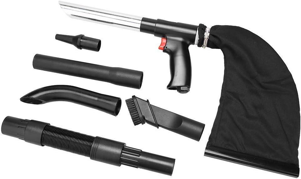 Pistola aspiradora de Aire de Mano portátil, Goma, Aluminio, plástico, Multifuncional, práctica, Potente, Pistola de Aire, aspiradora, aspiradora, aspiradora, de Doble Uso, económica, Pistola de LIM