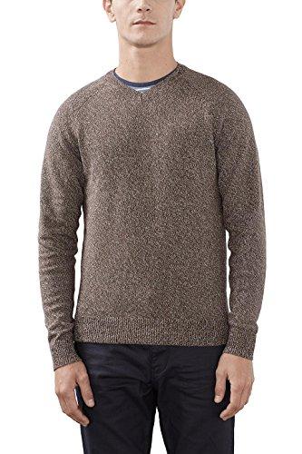ESPRIT 106EE2I004 - Basic, suéter Hombre, Marrón (Brown), Large