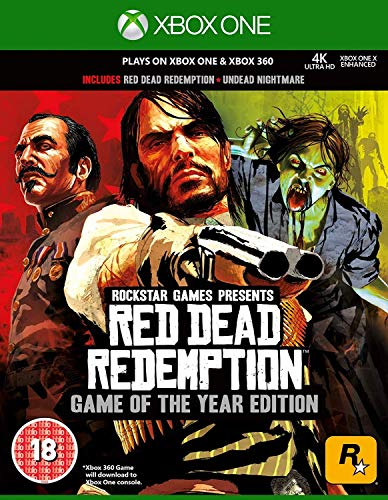 Red Dead Redemption Game of the Year (Classics) (Xbox 360)(Xbox One Compatible)