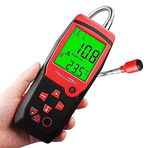 no-branded Brennbare Gasdetektoren Leck Analyzer Lade Leistung Handheld Natürliche LED Ton Licht Alarm Sniffer Methan-Sensor XXYHYQHJD