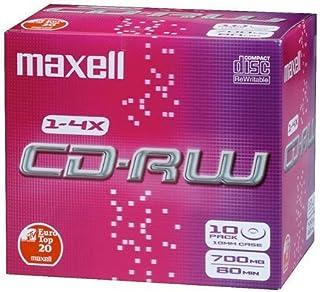 CD-RW 80 Jewelcases 10 pcs