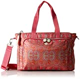 Oilily Damen Groovy Diaperbag Mhz Tote, Rot (Red), 14.5x25.5x38 cm