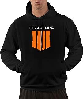 Men's Hooded Sweatshirt - Call,Black Ops 4 Duty