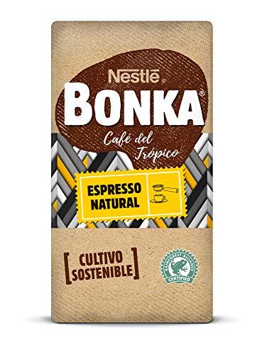 BONKA Café molido de tueste natural - Paquete de Café molido de 8 x 250 g- Total: 2 kg