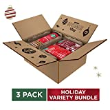 Starbucks Holiday Bundle | Holiday Cookie Straws & Two Ground Coffees | 10 Ounce Bag Of Holiday...