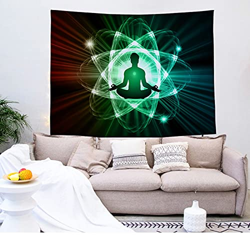 YDyun Tapiz para Colgar en la Pared del hogar para Sala de Estar Dormitorio hogar decoración, Tela Colgante Fondo Tela Buda impresión