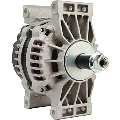 DB Electrical ADR0406 Truck Alternator Compatible with/Replacement for Delco 24SI 160 Amp Quad Pad Mount /8600889