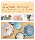 Céramique : techniques de décor sur cru et biscuit: Empreinte, pochoir, mishima, dessin et peinture sur argile...