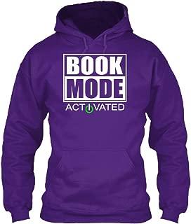 teespring Men's Book Mode Activated - Sweatshirt - Gildan 8Oz Heavy Blend Hoodie