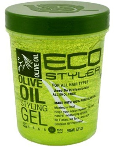 Price comparison product image ECOCO Eco Style Gel,  Olive 32 oz (Pack of 3)