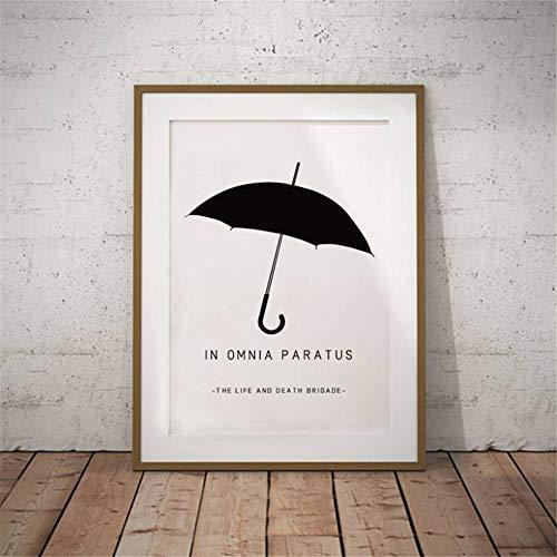 Danjiao In Omnia Paratus Druckt Gilmore Girls Tv Show Poster Aquarell Lukes Diner Interior Print Leinwand Gemälde Wand Kunst Dekor Schwarz Wohnzimmer 40x60cm
