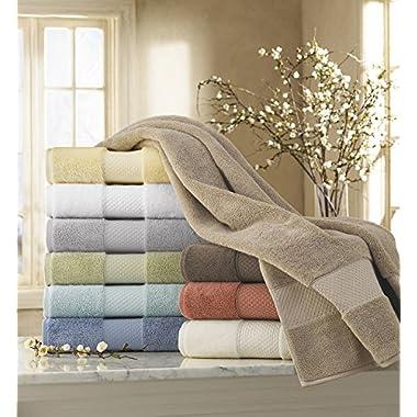 Kassatex Ottoman Elegance Collection Towels, Hand Towel - Desert Sand
