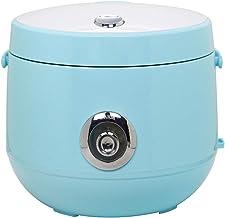 Kleine rijstkoker Huishoudelijke slimme rijstkoker met verwijderbare binnenklep en stoomopening(2-5L),blauw,3L