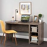 Prepac Sonoma Home Office Desk, 56', Drifted Gray