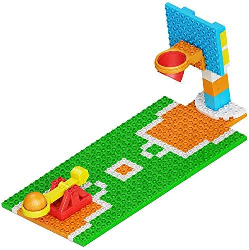 Mini Canchas De Baloncesto Bloques De Construcción 3D Puzzle Educational Juguete Para Niños Adultos Regalos