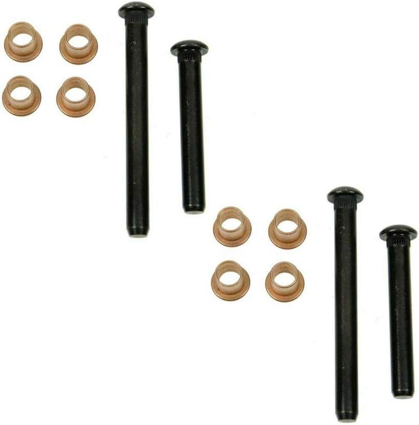 Riseking Door Hinge 1 year warranty Pin Max 89% OFF Bushing Kit Bushings 8 4 Pins Set