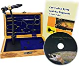 Colorado Anglers Z797 Wooden Fly Tying Standard Tool Kit, Fly Fishing Vise, Bobbin