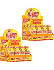 Vitamin Energy Shots – Energy Lasts up to 7+ Hours*, Supports Immune Health*, Great Tasting, Keto 0 Carbs & 0 Sugar