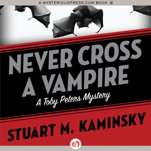 Never Cross a Vampire audiobook cover art