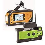【2020 Newest Version】 Runningsnail Emergency Weather Alert Radio+AM/FM/NOAA Weather Emergency Crank Radio, Solar Hand Crank Portable Radio with SOS Alarm for Emergency and Outdoor