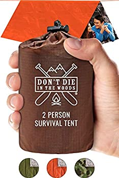 Don't Die In The Woods 2-Person Ultralight Survival Tent