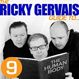 The Ricky Gervais Guide to... THE HUMAN BODY cover art