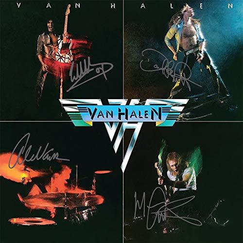 Van Halen Autographed Self Titled Mint Condition Vinyl Album