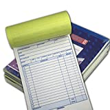 Online Best Service 5 Pack Large Sales Order Book Receipt Invoice Duplicate Carbonless 50 Sets 5.5' X 8'5