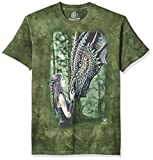 Photo de The Mountain Il était Une Fois Fantaisie Adulte 5XL Unisexe Vert T Shirt par