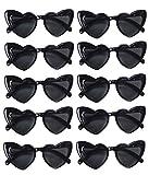 Heart Sunglasses, Pack of 10 (Black, Pack of 10)