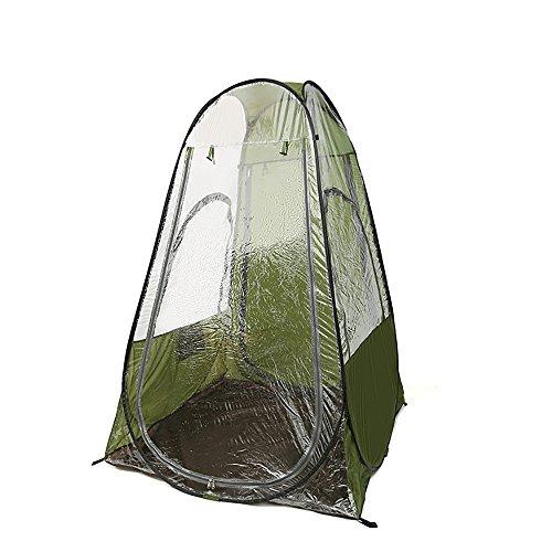 Outdoor, Angeln, Eine Zweite Geschwindigkeit Offen, Zelte, Regen, Sonne, Wasserdichte Oxford Cloth + High-Definition-Kunststoff, Fiberglas-Stent, Leicht Zu Tragen, Die Armee Grün.