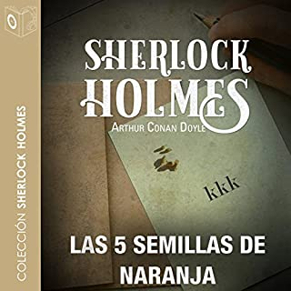 Las 5 semillas de naranja [The Five Orange Pips] audiobook cover art