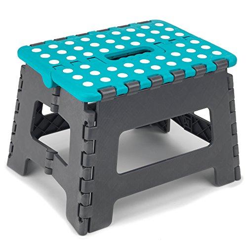 Beldray LA032614TQ DIY Hobby Step Stool, Small, Plastic, Turquoise